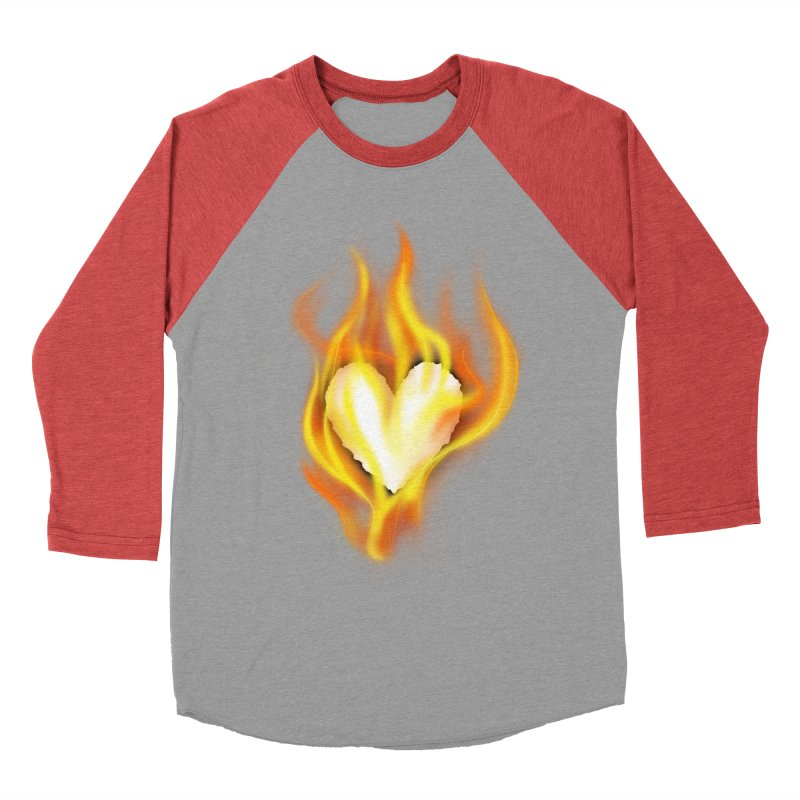 Ignite Women's Baseball Triblend T-Shirt by Wally's Shirt Shop