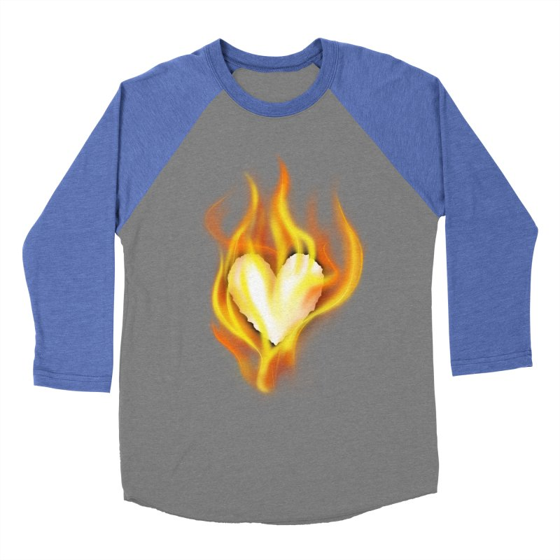 Ignite Men's Baseball Triblend T-Shirt by Wally's Shirt Shop