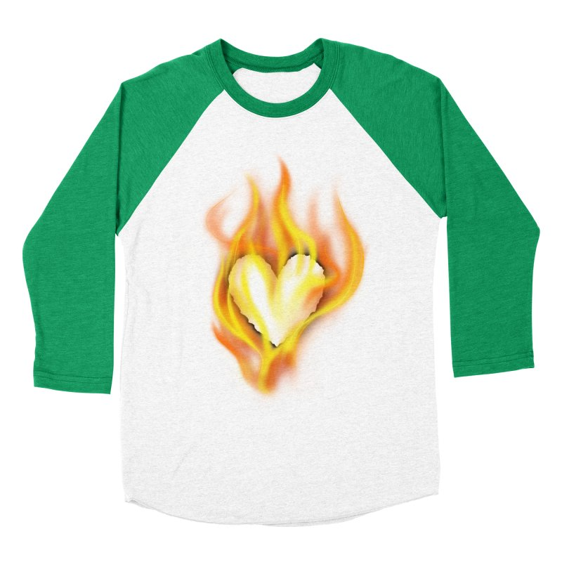 Ignite Men's Baseball Triblend T-Shirt by Wally's Shirt Shop