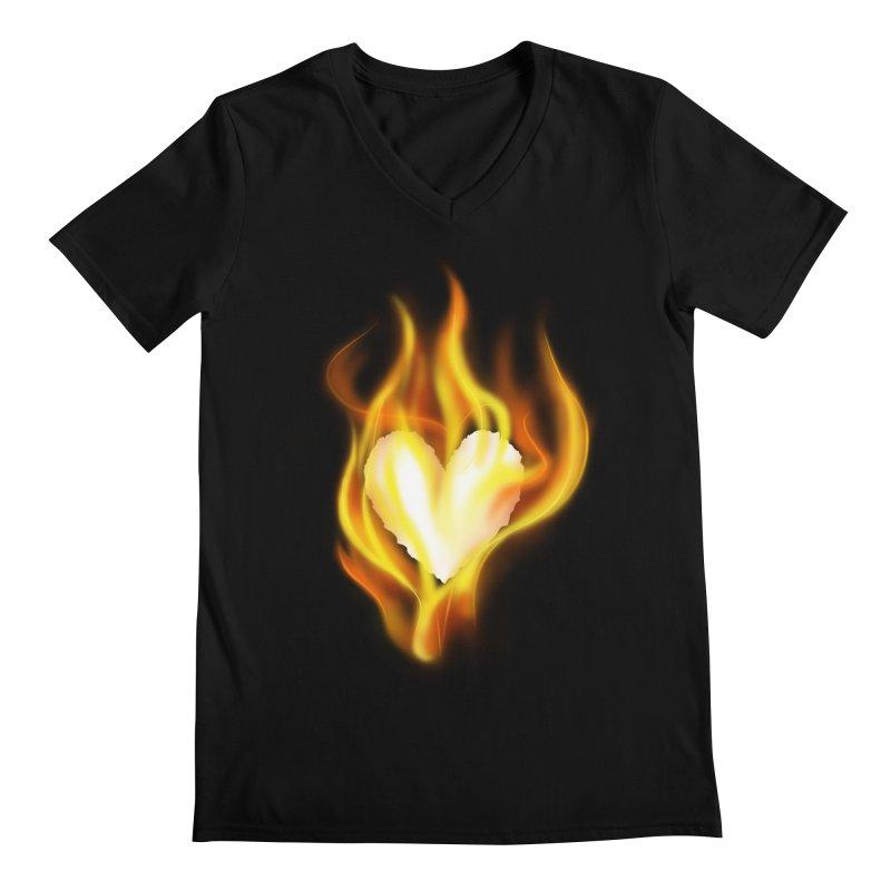 Ignite Men's V-Neck by Wally's Shirt Shop