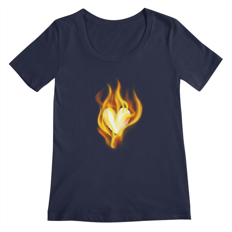 Ignite Women's Scoopneck by Wally's Shirt Shop