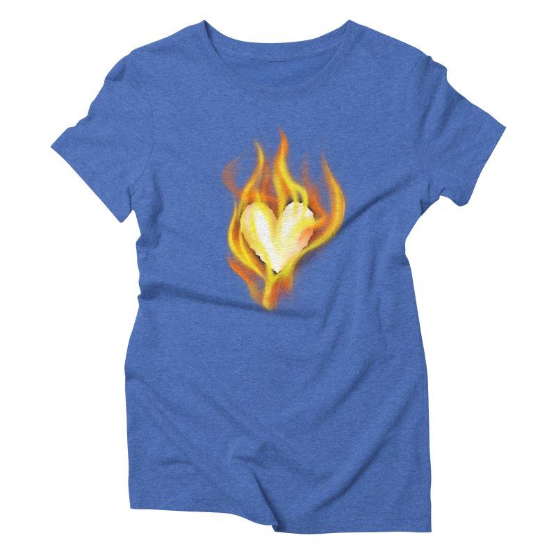 Ignite Women's Triblend T-shirt by Wally's Shirt Shop