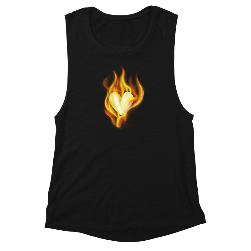 Ignite Women's Muscle Tank by Wally's Shirt Shop