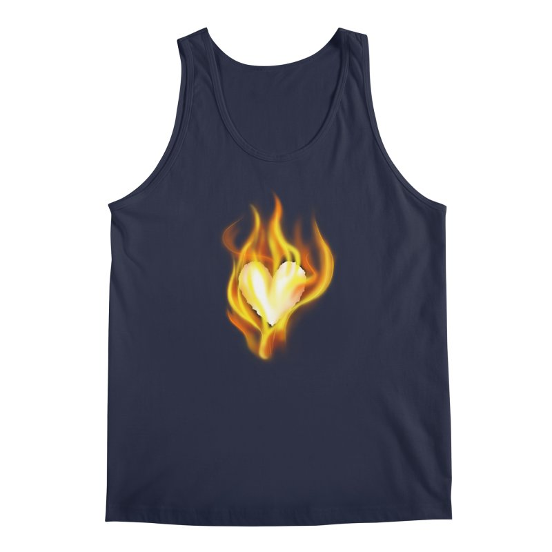 Ignite Men's Tank by Wally's Shirt Shop