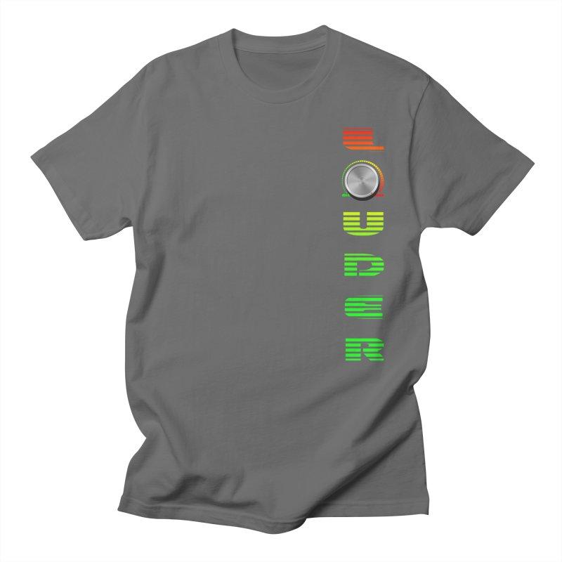 LOUDER Men's T-Shirt by Wally's Shirt Shop