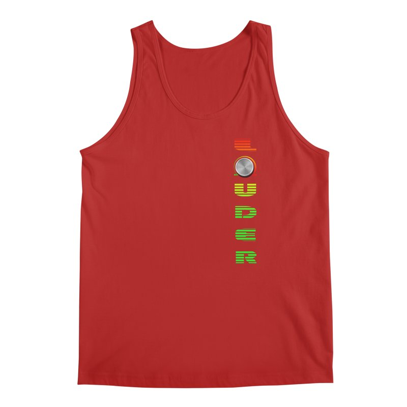 LOUDER Men's Tank by Wally's Shirt Shop