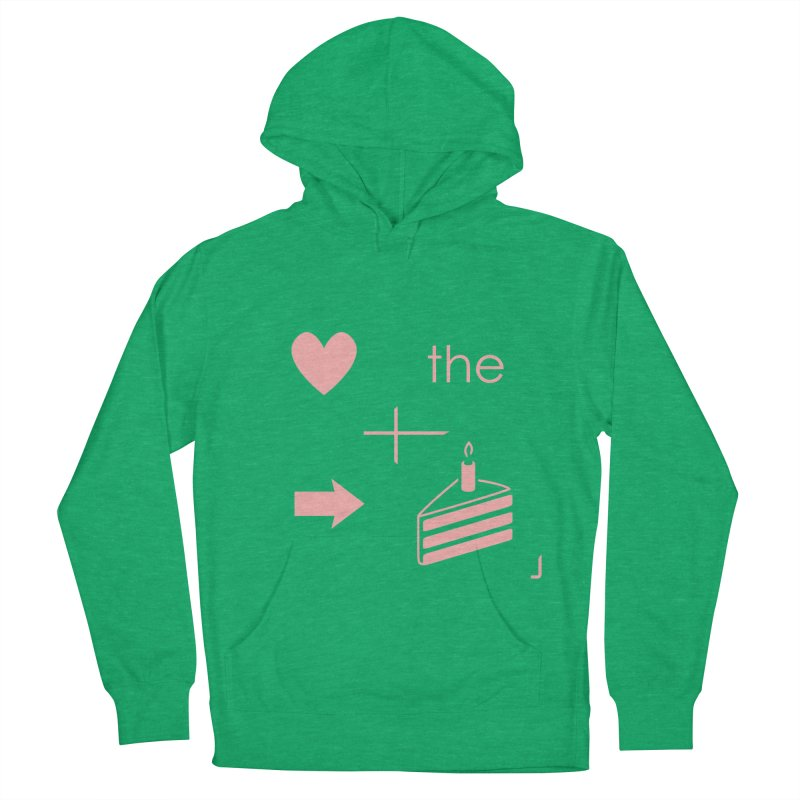 Love The Right Cake Men's Pullover Hoody by Wally's Shirt Shop