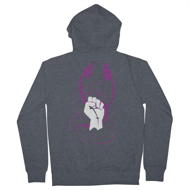 Rebel Head Army Women's Zip-Up Hoody by Wally's Shirt Shop