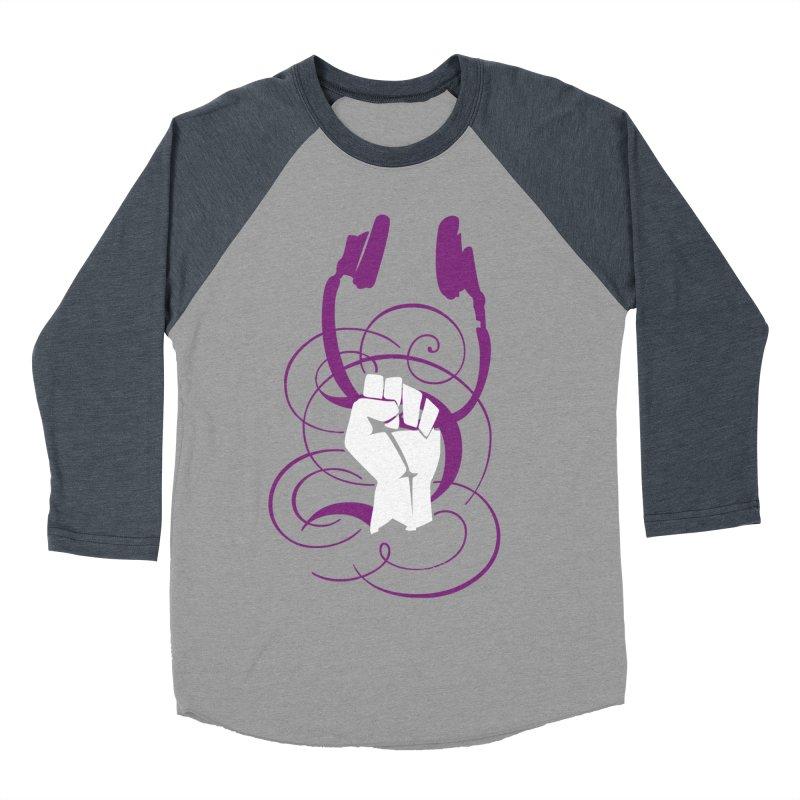 Rebel Head Army Women's Baseball Triblend T-Shirt by Wally's Shirt Shop