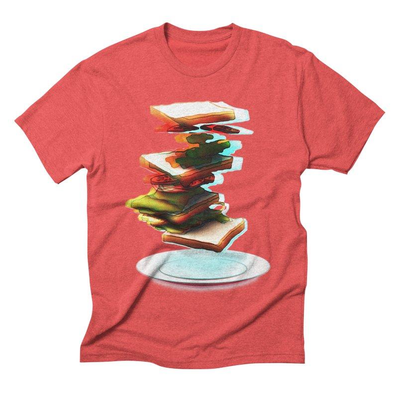 Ordermade Men's Triblend T-shirt by Wally's Shirt Shop