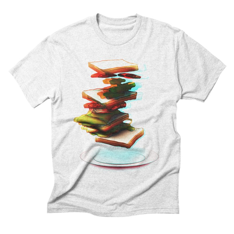 Ordermade Men's Triblend T-shirt by Wally's Shirt Shop