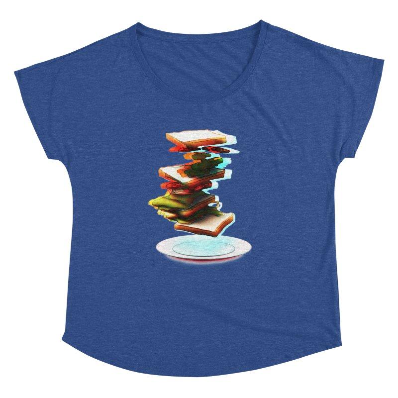 Ordermade Women's Dolman Scoop Neck by Wally's Shirt Shop