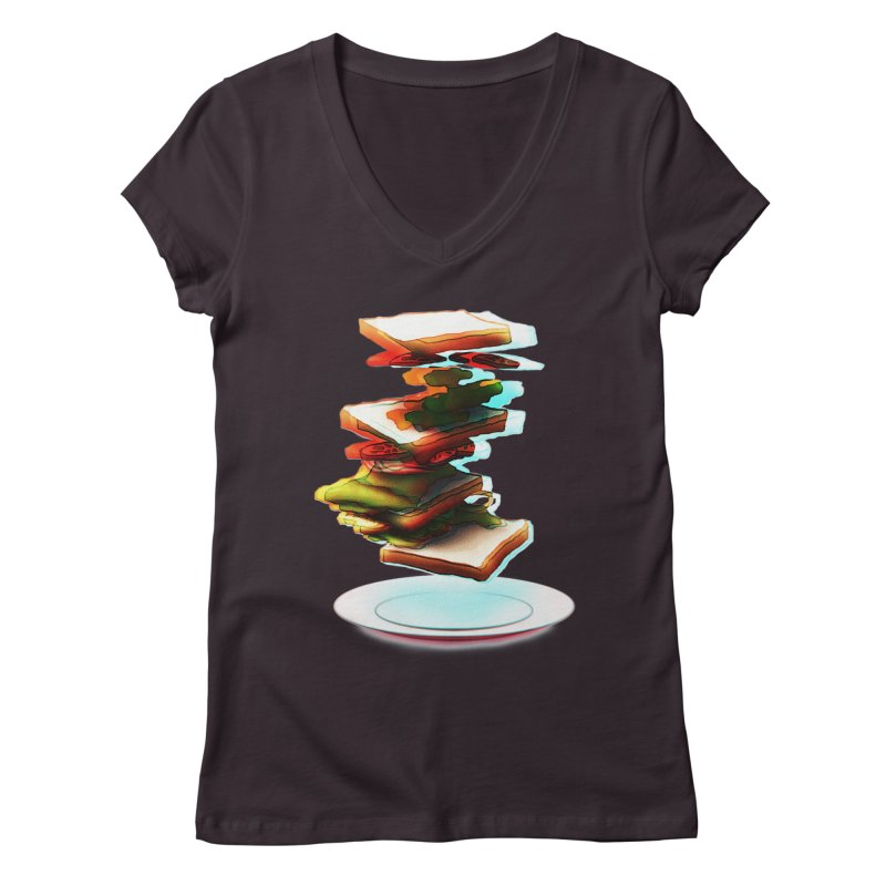 Ordermade Women's V-Neck by Wally's Shirt Shop