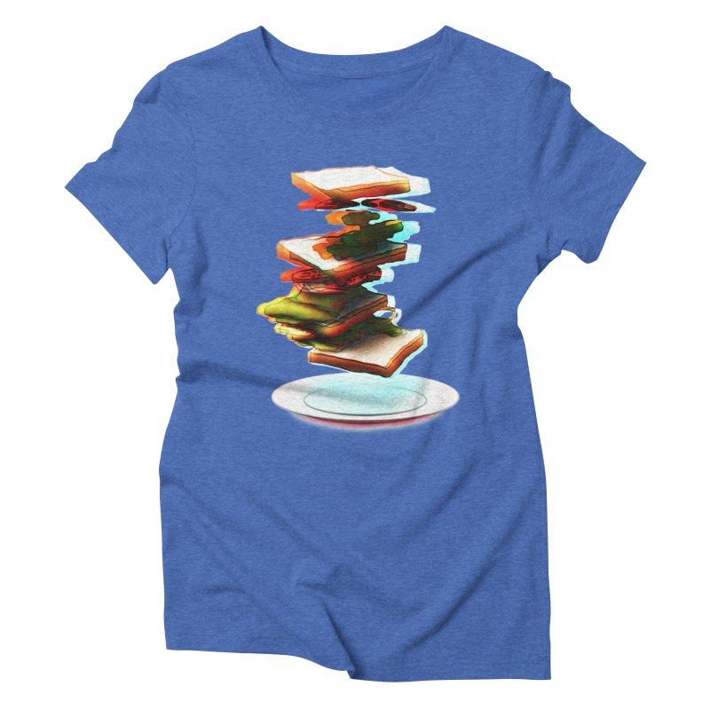 Ordermade Women's Triblend T-shirt by Wally's Shirt Shop