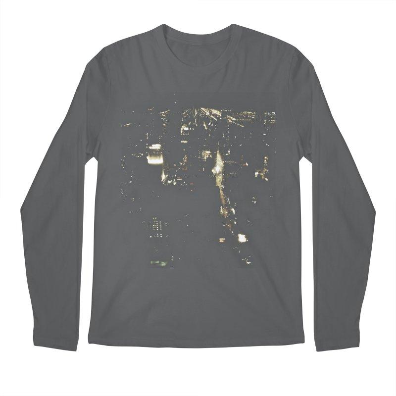 River of Light Men's Regular Longsleeve T-Shirt by Wally's Shirt Shop