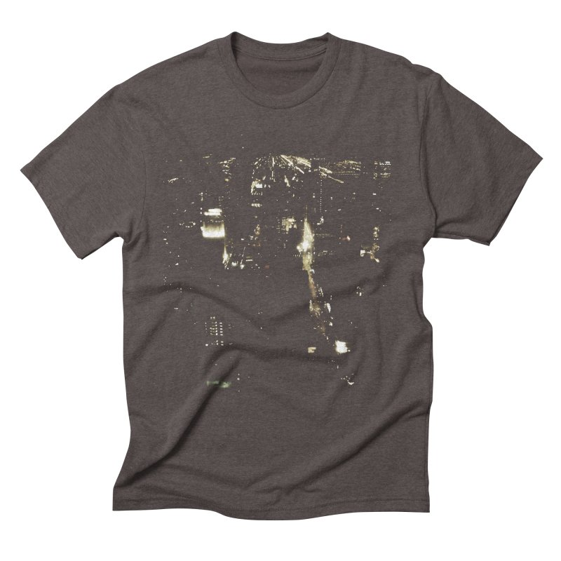 River of Light Men's Triblend T-Shirt by Wally's Shirt Shop