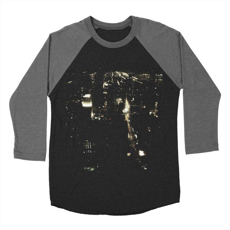 River of Light Women's Baseball Triblend T-Shirt by Wally's Shirt Shop