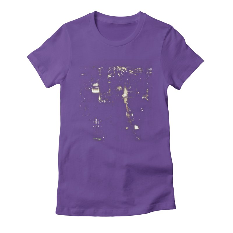 River of Light Women's Fitted T-Shirt by Wally's Shirt Shop