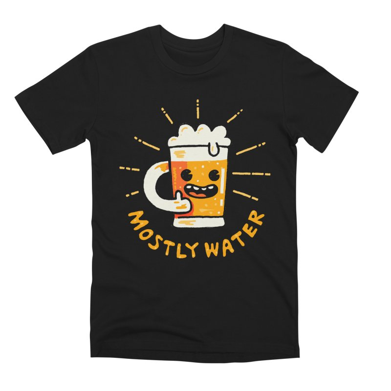 Moslty Water Men's T-Shirt by Walmazan's Artist Shop
