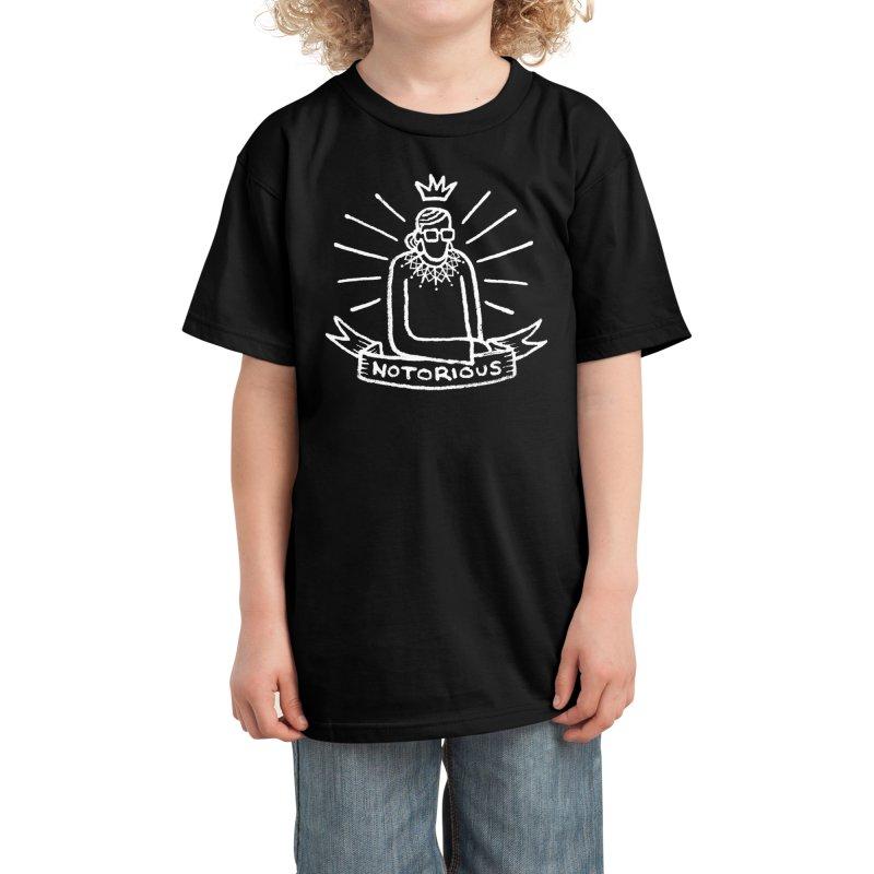 Notorious Tattoo Kids T-Shirt by Walmazan's Artist Shop