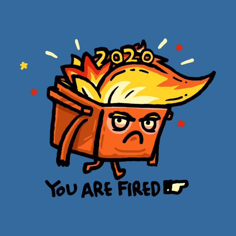 Trumpster Fire Accessories Face Mask by Walmazan's Artist Shop
