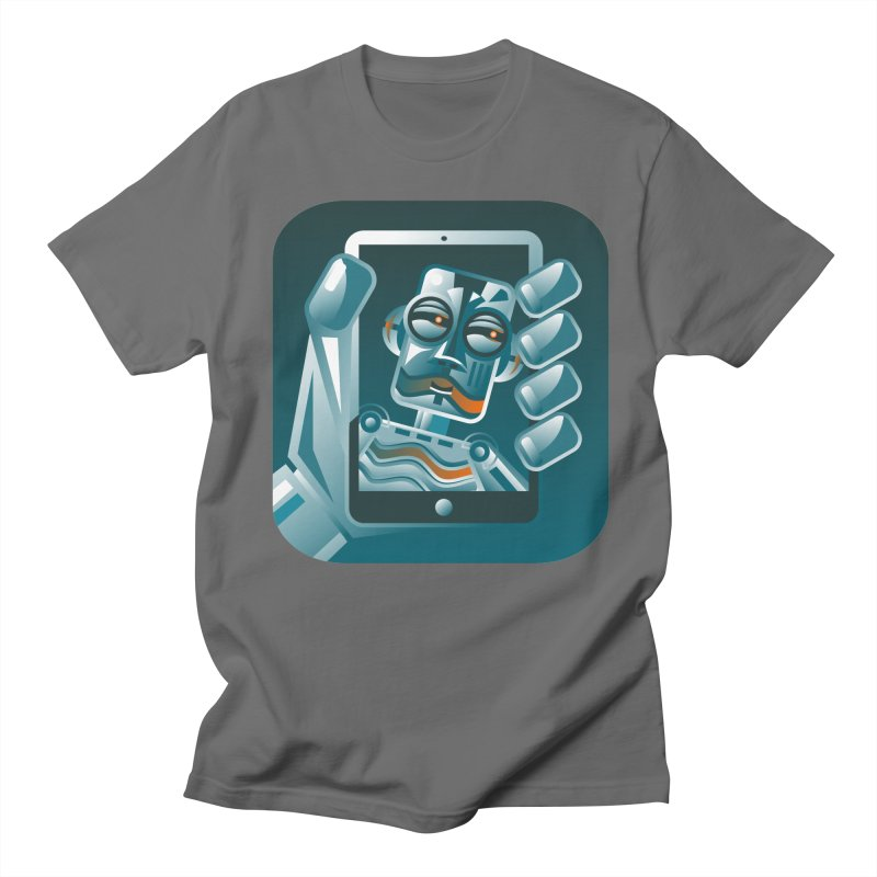 Selfie Aware Men's T-Shirt by Walter2Costinak's Artist Shop