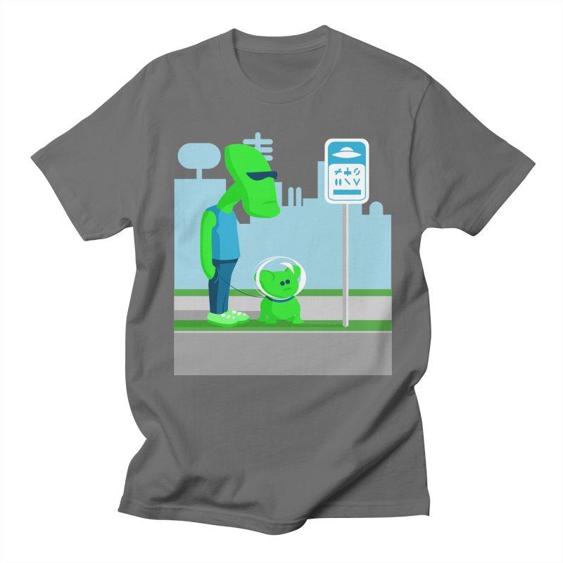 Blarp & Bleep Men's T-Shirt by Walter2Costinak's Artist Shop