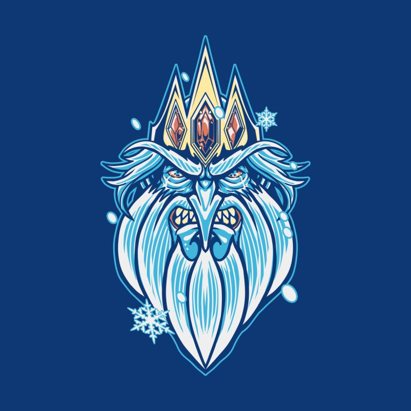 Ice King Men's T-Shirt by WarLourd's Artist Shop