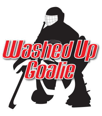 Washed Up Goalie Logo