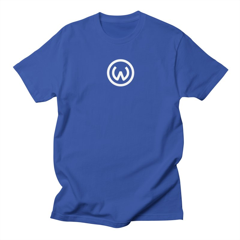 Classic Circle W in Men's Regular T-Shirt Royal Blue by Waters Wear