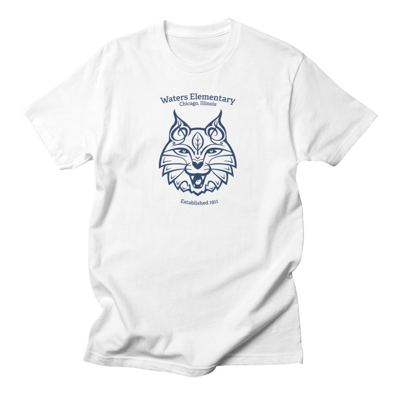 Wildcat with Established Date Men's T-Shirt by Waters Wear