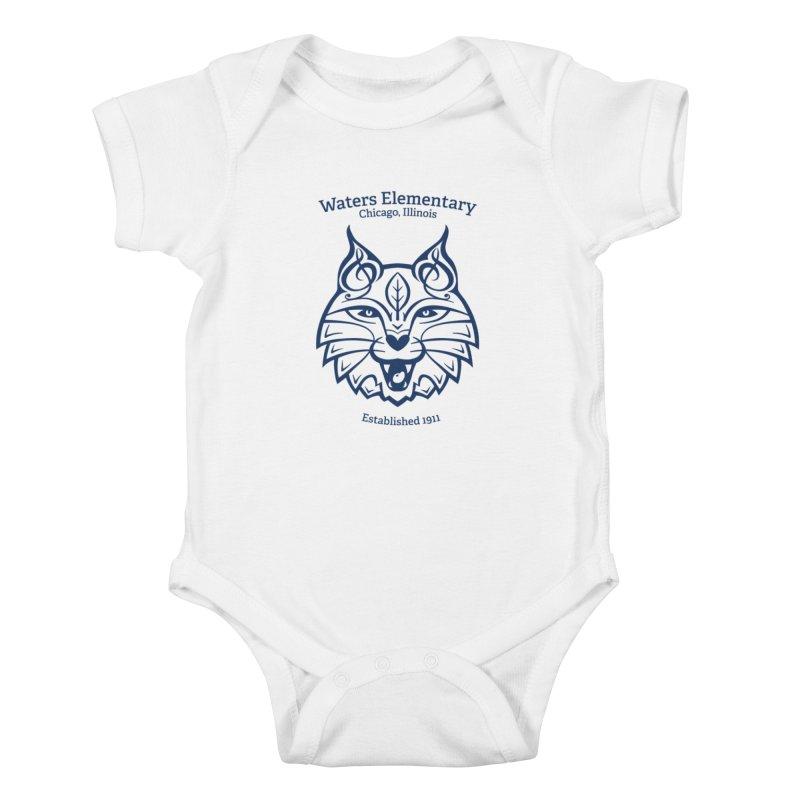 Wildcat with Established Date Kids Baby Bodysuit by Waters Wear