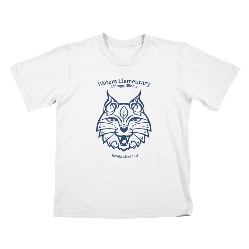 Wildcat with Established Date Kids T-Shirt by Waters Wear