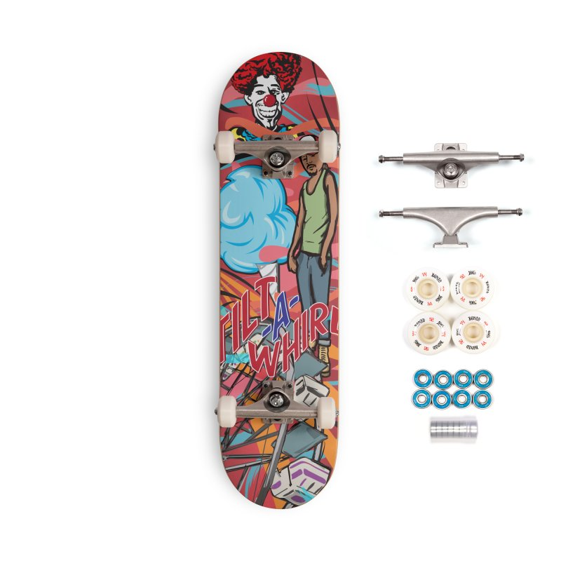 Carney Accessories Complete - Premium Skateboard by Watsonscribbles's Artist Shop
