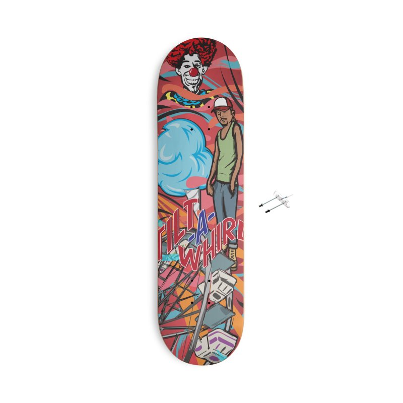 Carney Accessories With Hanging Hardware Skateboard by Watsonscribbles's Artist Shop