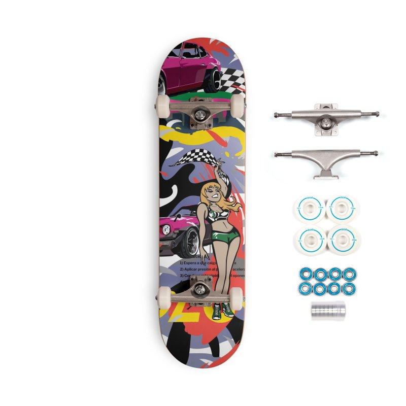 Street Race Accessories Complete - Basic Skateboard by Watsonscribbles's Artist Shop