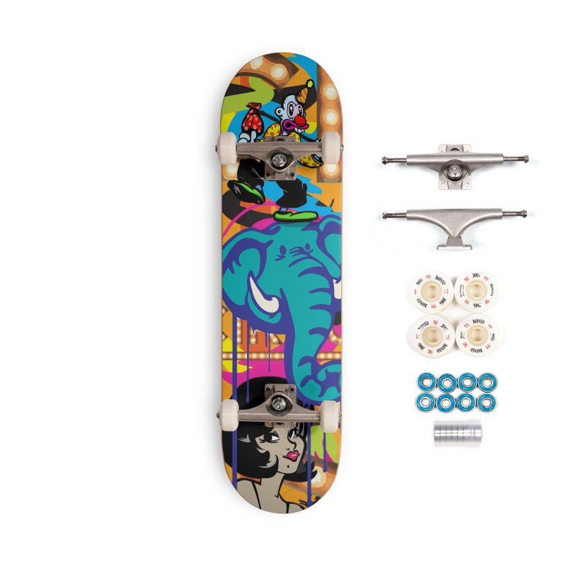 Big Top Accessories Complete - Premium Skateboard by Watsonscribbles's Artist Shop