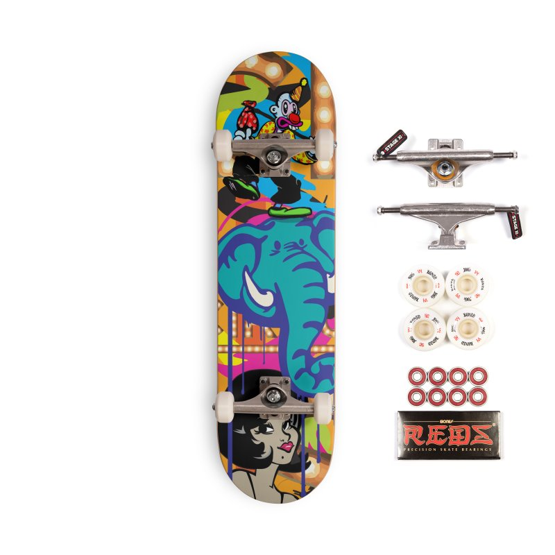 Big Top Accessories Complete - Pro Skateboard by Watsonscribbles's Artist Shop