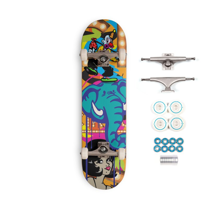 Big Top Accessories Complete - Basic Skateboard by Watsonscribbles's Artist Shop