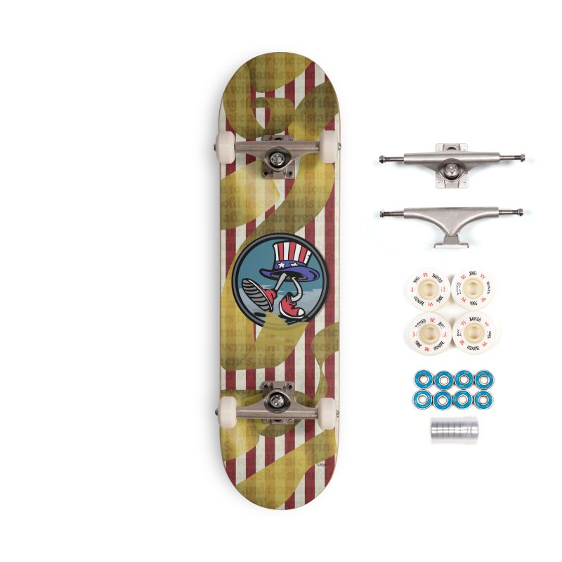 Merican Spirit Accessories Complete - Premium Skateboard by Watsonscribbles's Artist Shop