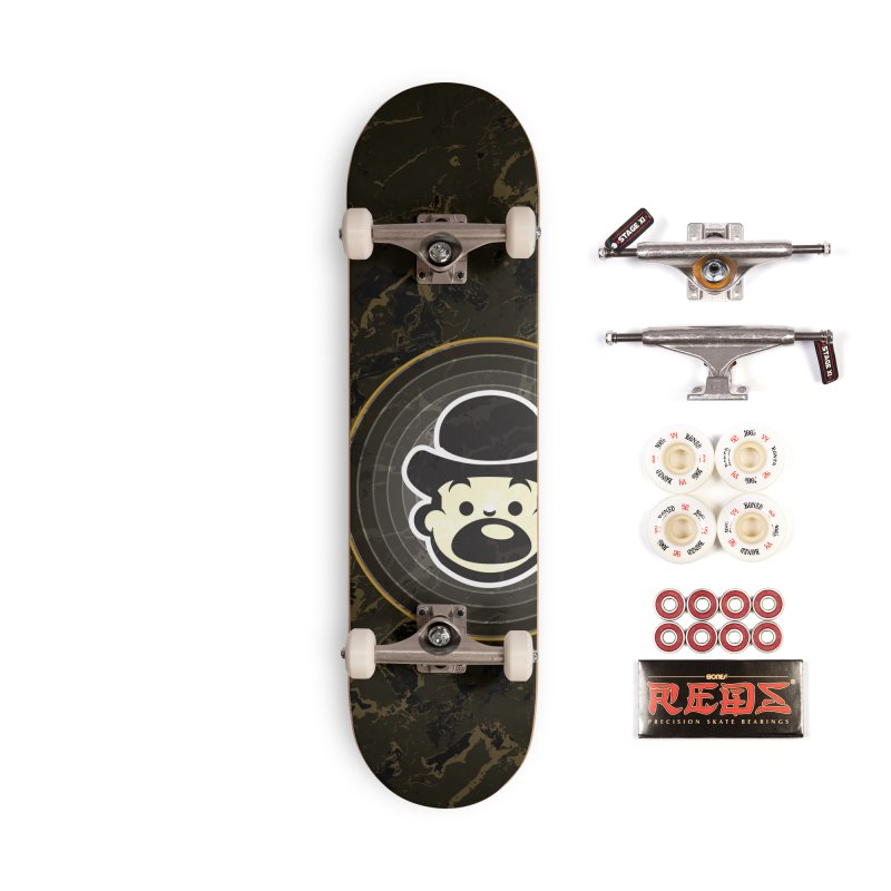 Busker Accessories Complete - Pro Skateboard by Watsonscribbles's Artist Shop