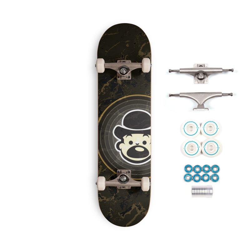 Busker Accessories Complete - Basic Skateboard by Watsonscribbles's Artist Shop
