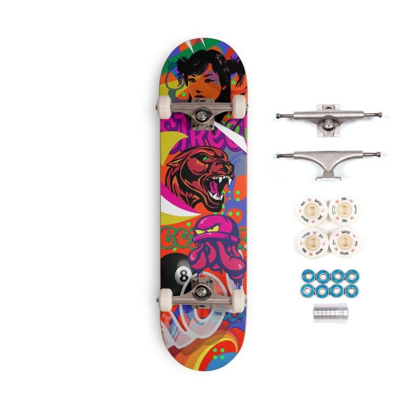Wallride Accessories Complete - Premium Skateboard by Watsonscribbles's Artist Shop