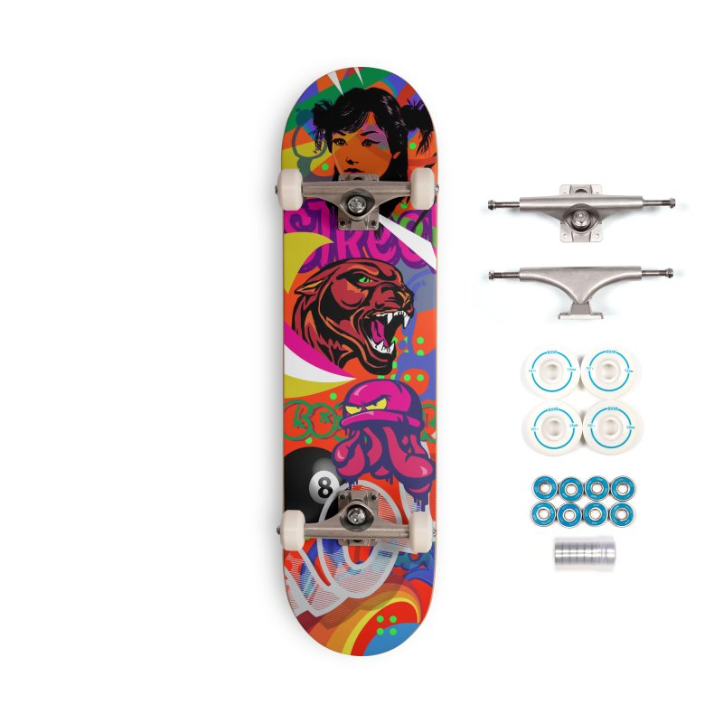 Wallride Accessories Complete - Basic Skateboard by Watsonscribbles's Artist Shop