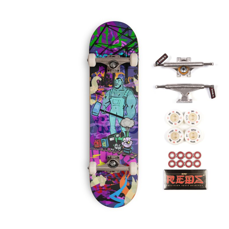 The Ghost of John Henry Accessories Complete - Pro Skateboard by Watsonscribbles's Artist Shop