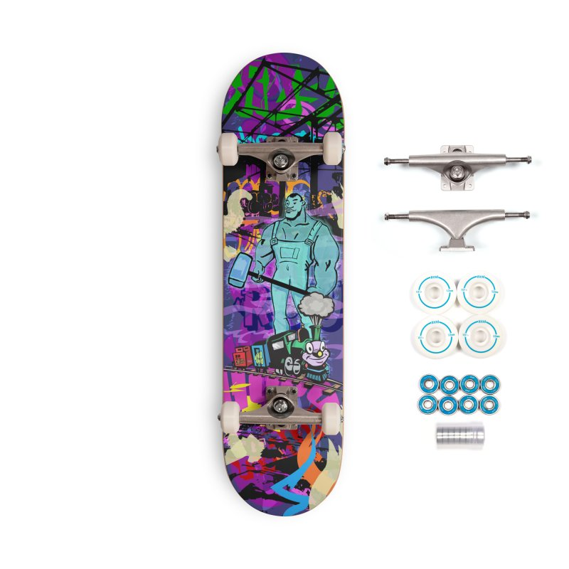 The Ghost of John Henry Accessories Complete - Basic Skateboard by Watsonscribbles's Artist Shop
