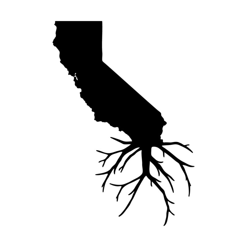 Cal Roots Men's T-Shirt by We Are California Grown's Artist Shop