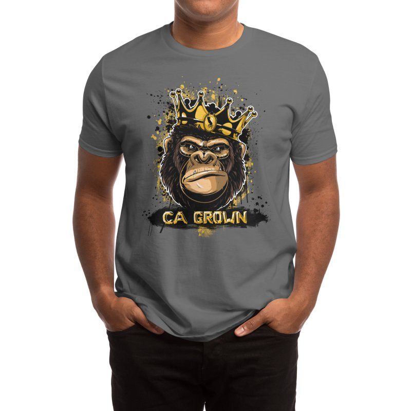King Kong Men's T-Shirt by We Are California Grown's Artist Shop