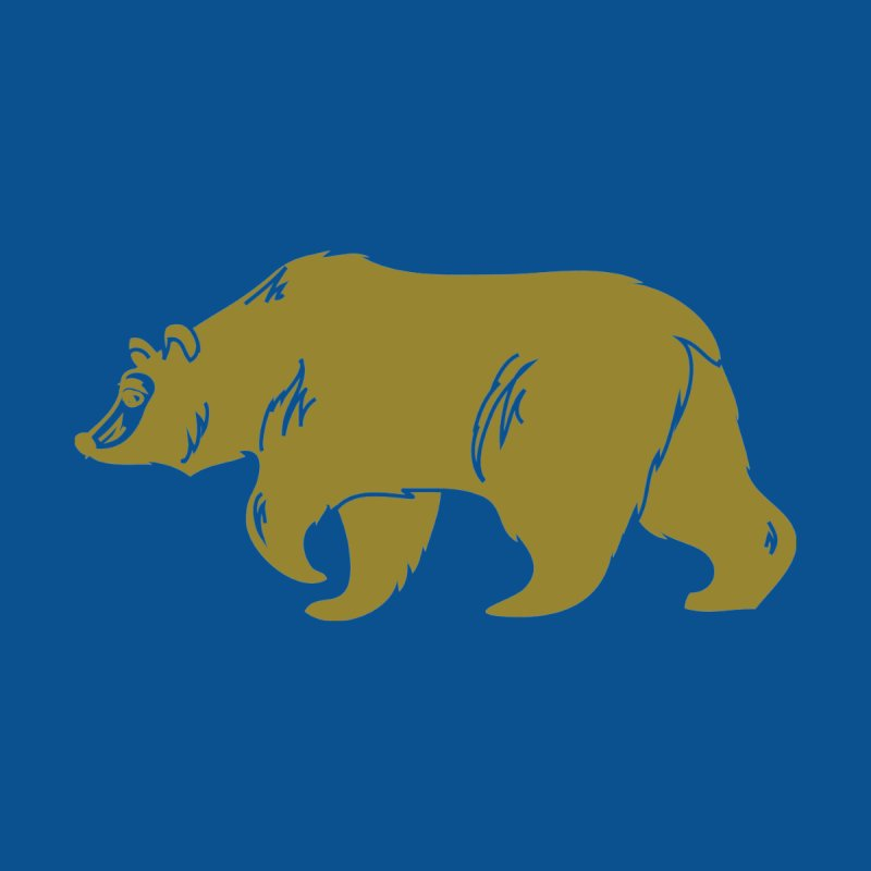 California Bear Accessories Magnet by We Are California Grown's  Artist Shop