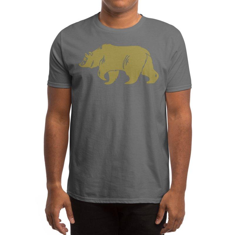 California Bear Men's T-Shirt by We Are California Grown's Artist Shop